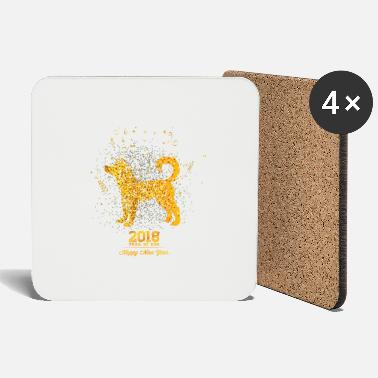 Chinese New Year Chinese New Year - Year of the Dog - Coasters