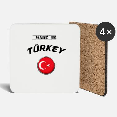 Turkey TURKEY TURKEY TURKEY MADE IN TURKEY T-SHIRT - Coasters