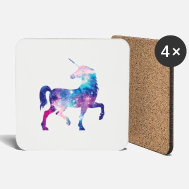 Unicorn with constellation design - Coasters