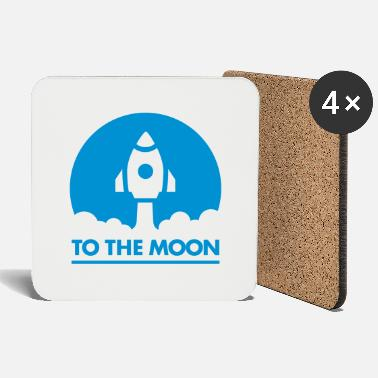 Moon To The Moon - Coasters