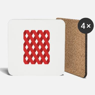 Gutter Gutter Red - Coasters