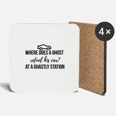 Ghastly Where does a ghost refuel his car? - Coasters
