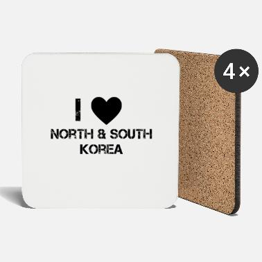 North Korea North Korea South Korea - Coasters