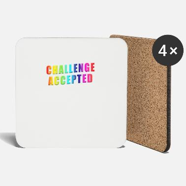 Challenger Challenge Accepted - Coasters