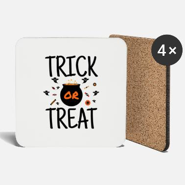 Trick Or Treat Trick or Treat - Festins de bonbons d'Halloween - Dessous de verre