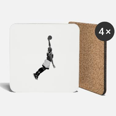 Eintunken Dunking design created for Basketball fans - Untersetzer