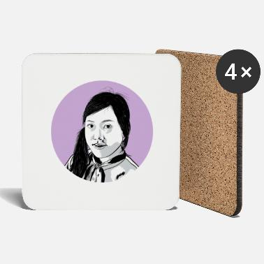 Asian Asian girl - Coasters