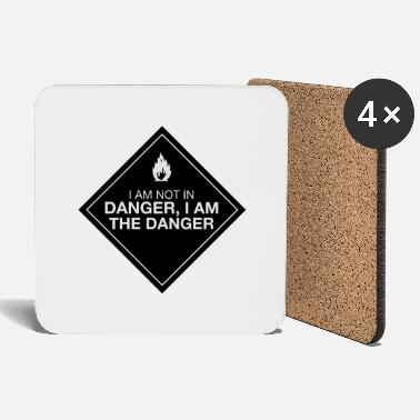 Walter White I am the danger - Coasters