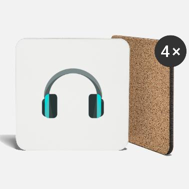 Headphones Headphones headphones - Coasters