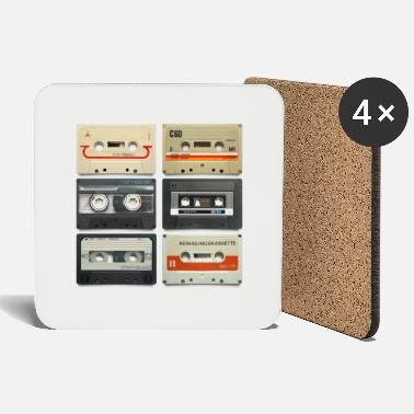 Tape vintage tape: 6 tapes - Coasters