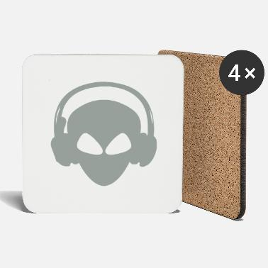 Alien DJ - Coasters