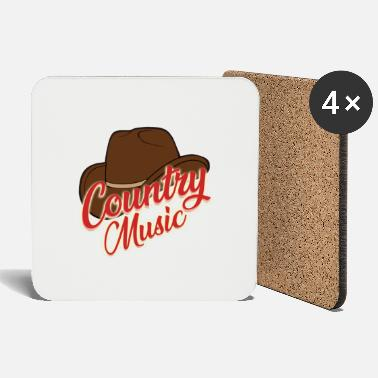 Country Country music - Untersetzer