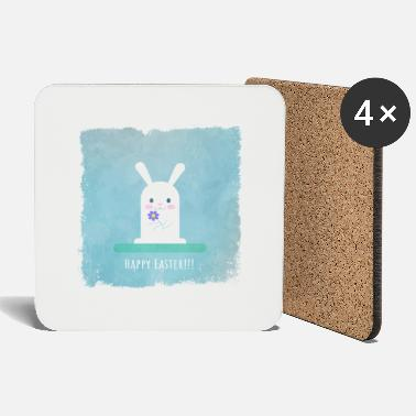 Easter Bunny Easter bunny, easter, bunny, bunny happy easter - Coasters