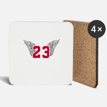 Basketball number 23 Michael Jordan - Coasters