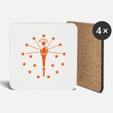 State State of Indiana - Coasters