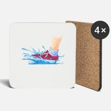 Wet Wet Shoes - Coasters