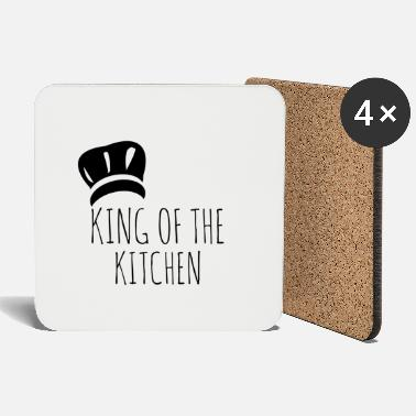 Kitchen Knives king of the kitchen - Coasters