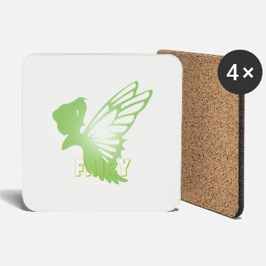 Mythical Creature Fairy Mythical Fantasy Creatures - Coasters