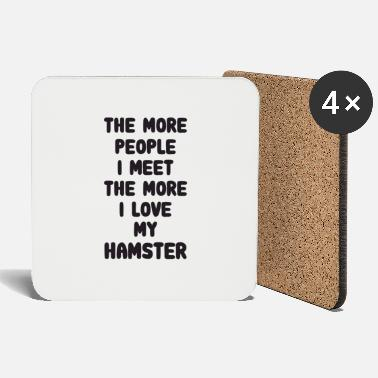 Guinea Pig The More People I Meet Hamster - Coasters