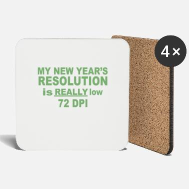 Low-key Low Resolution - Coasters
