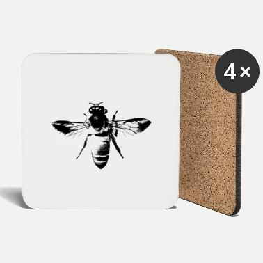 Honey Bee The honey bee - honey bee - Coasters