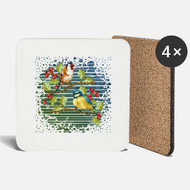 Bird Colorful birds - Coasters