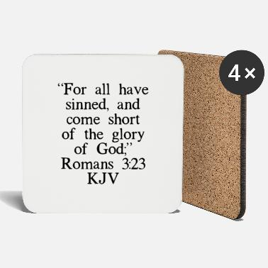 Spirit Romans 3:23 KJV - Coasters