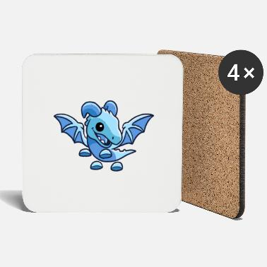 Frost Cute Frost Dragon - Coasters