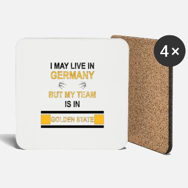 Jordan My Team is in Golden State | Warriors fan design - Coasters