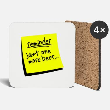 Reminder reminder beer - Coasters