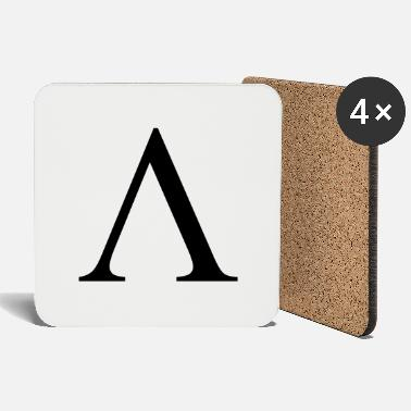 Fraternity Lambda Greek Fraternity College Letter - Coasters