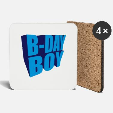 B Day B-day Boy (2c) - Coasters