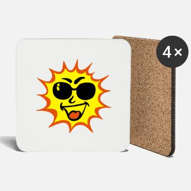 Sole sun sun sounds sole ground 1411 - Coasters