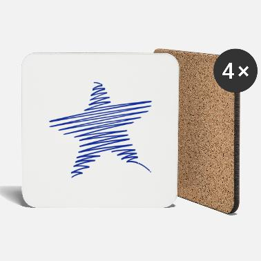 Scribble Scribble Star - Coasters