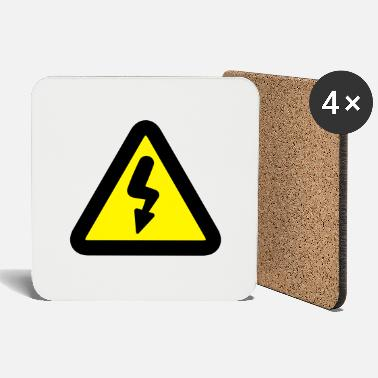 Road Sign Electricity road sign - Coasters