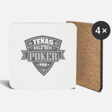 Holdem Texas hold'em poker - Coasters