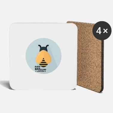 Officialbrands Be tight bee t-shirt - Coasters