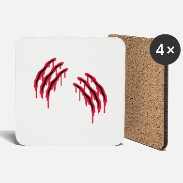 Wounded Scratch Wounds - Coasters