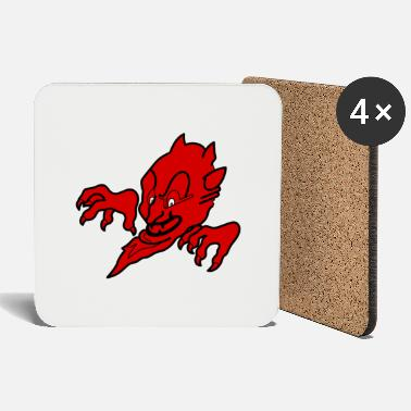 Insignia Red devil - Coasters