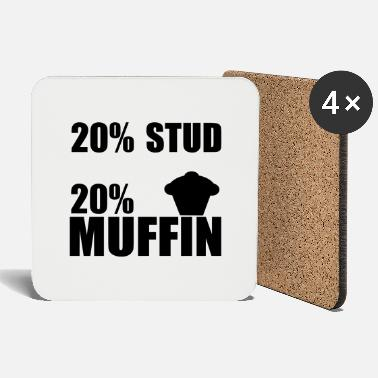 Studying Chinese stud muffin - Coasters