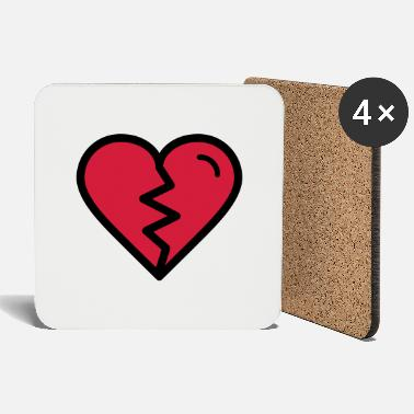 Heartache Broken heart, heartache, unhappy in love - Coasters