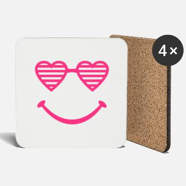 Shade Heart Shades - Coasters