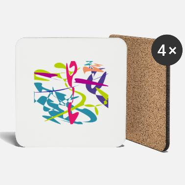 Curves Curved tangram - Coasters