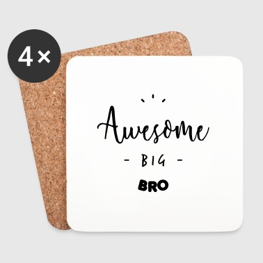 Awesome BIG BRO - Untersetzer (4er-Set)