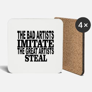 Steal great artists steal - Coasters