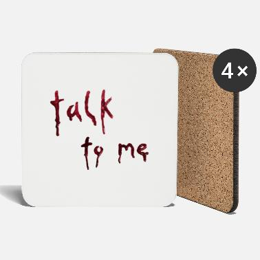 talk to me (bloody letters) - Untersetzer