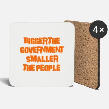Government Bigger the government - Coasters