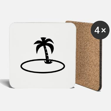 Palm Trees palm trees - Coasters