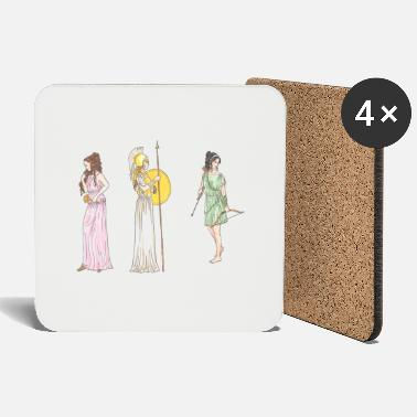 Ancient Ancient women - Coasters