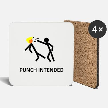 PUNCH INTENDED - Coasters